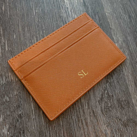 Leather Wallet with Free Monogram