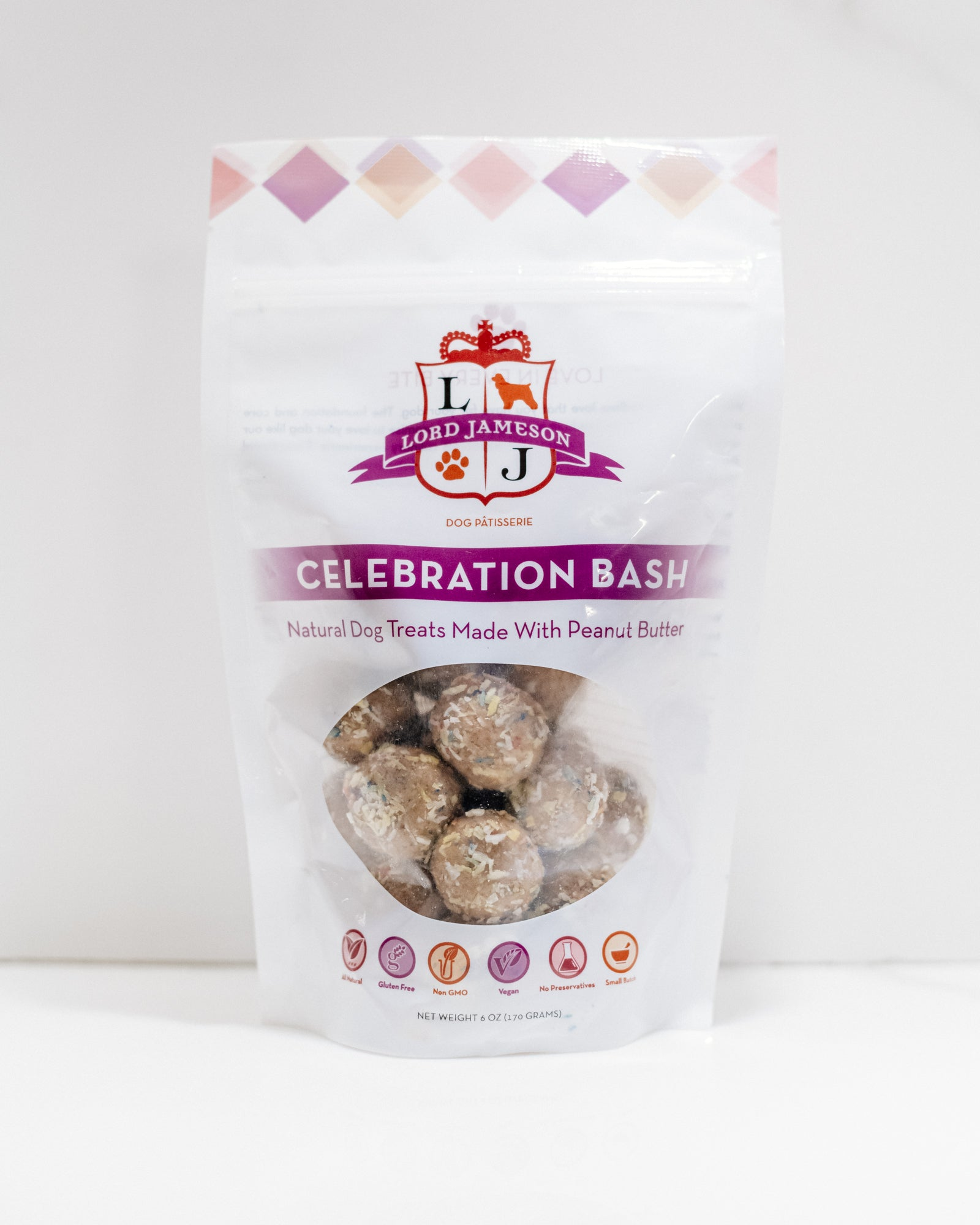 Celebration Bash Bundle | Peanut Butter + Party Colored Coconut