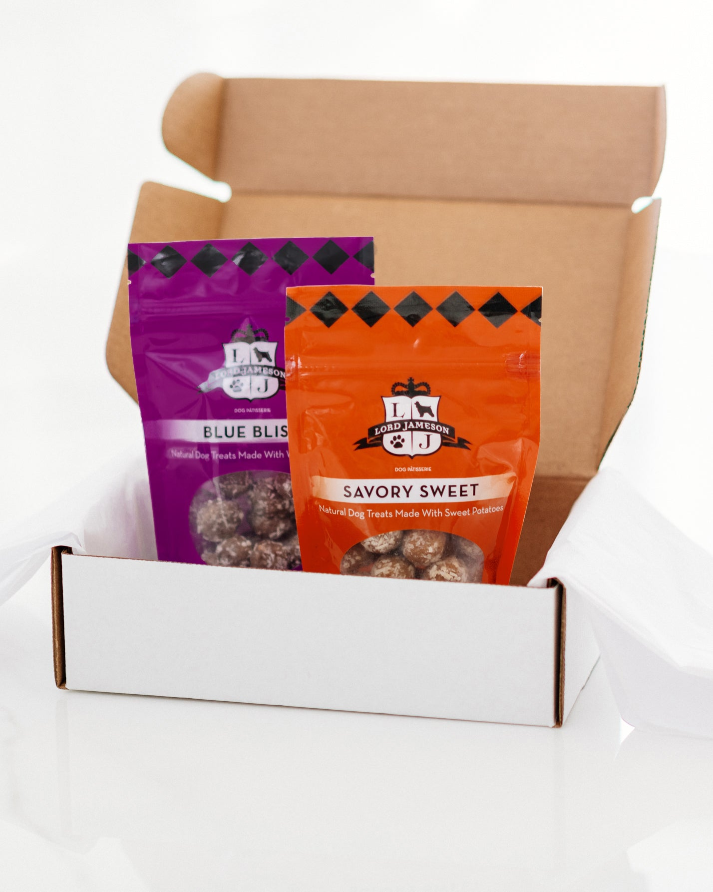Build An Organic Dog Treat Box | 2-Pack - Lord Jameson Organic Dog Treats