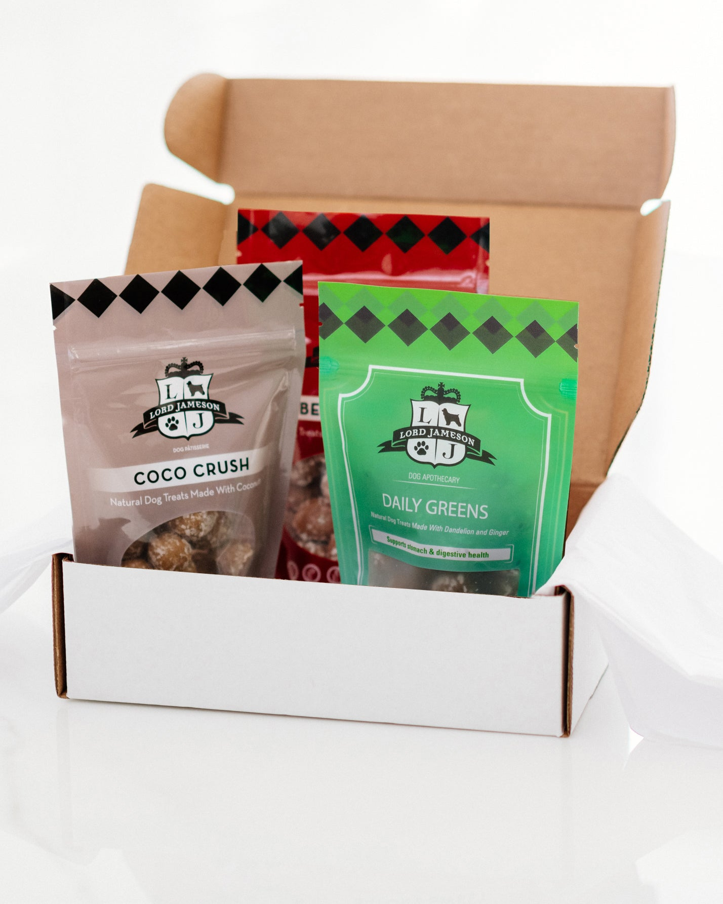 Build An Organic Dog Treat Box | 3-Pack - Lord Jameson Organic Dog Treats