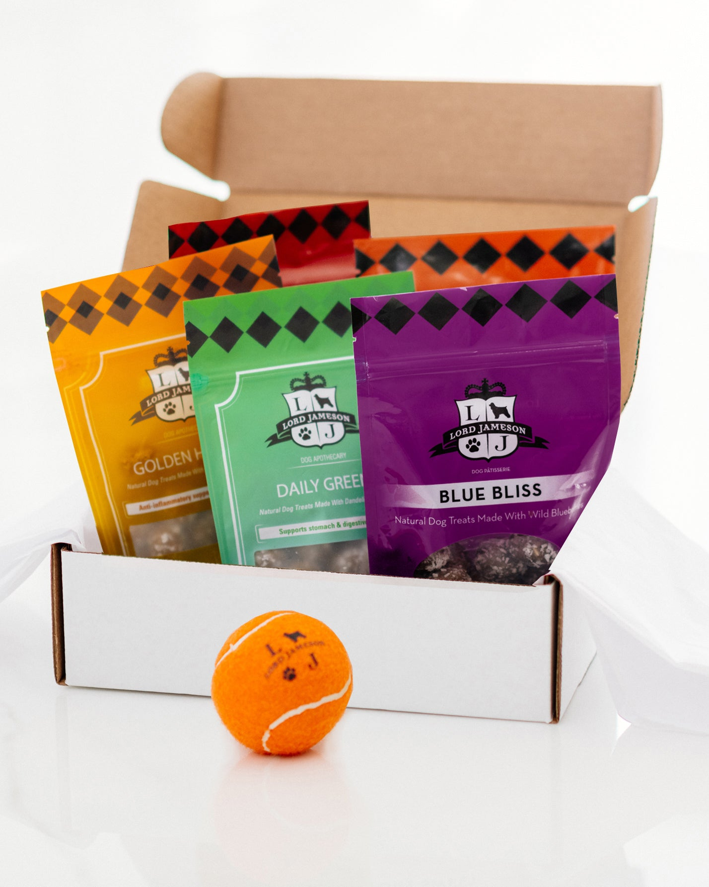 Bundle your favorite Organic Dog Treat Box | 5-Pack - Lord Jameson Organic Dog Treats