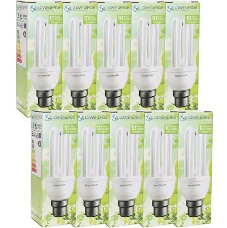 Supply and fit Low Energy Lamp Pack (MAX 10)