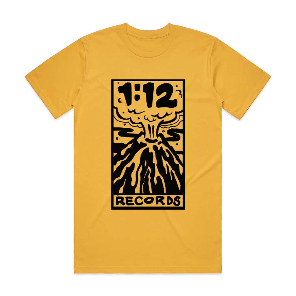 1:12 Records T-Shirt (Gold)