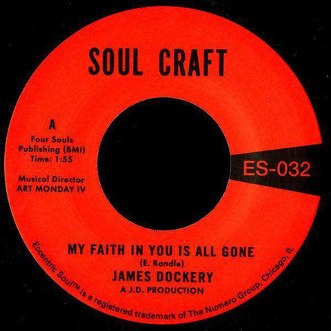 My Faith In You Is All Gone 7""