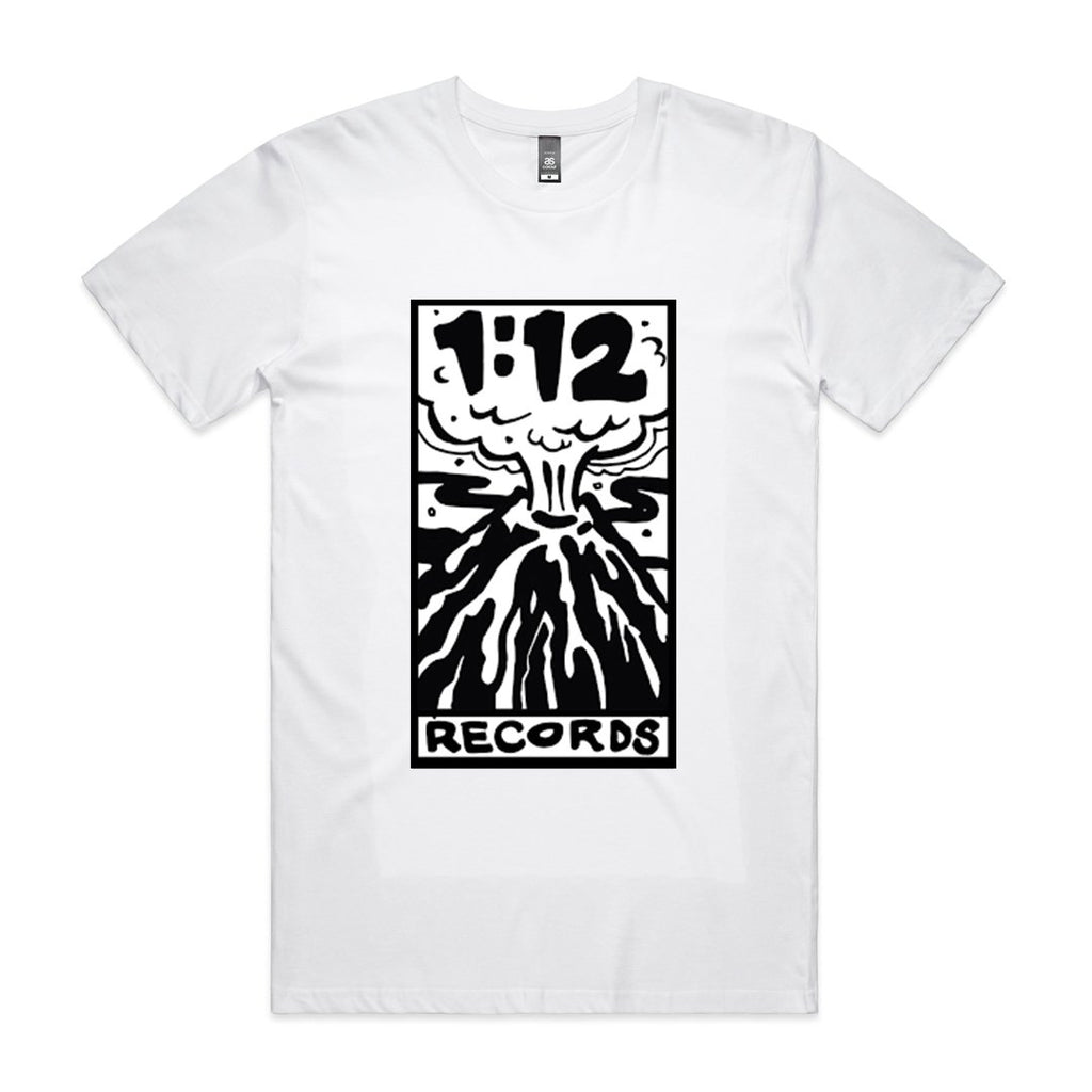 1:12 Records T-Shirt (White)