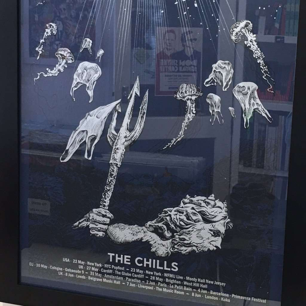 The Chills 2016 Tour Poster - Flying Out - 1