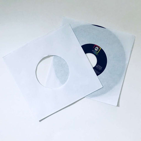 "7"" White Paper Sleeve"