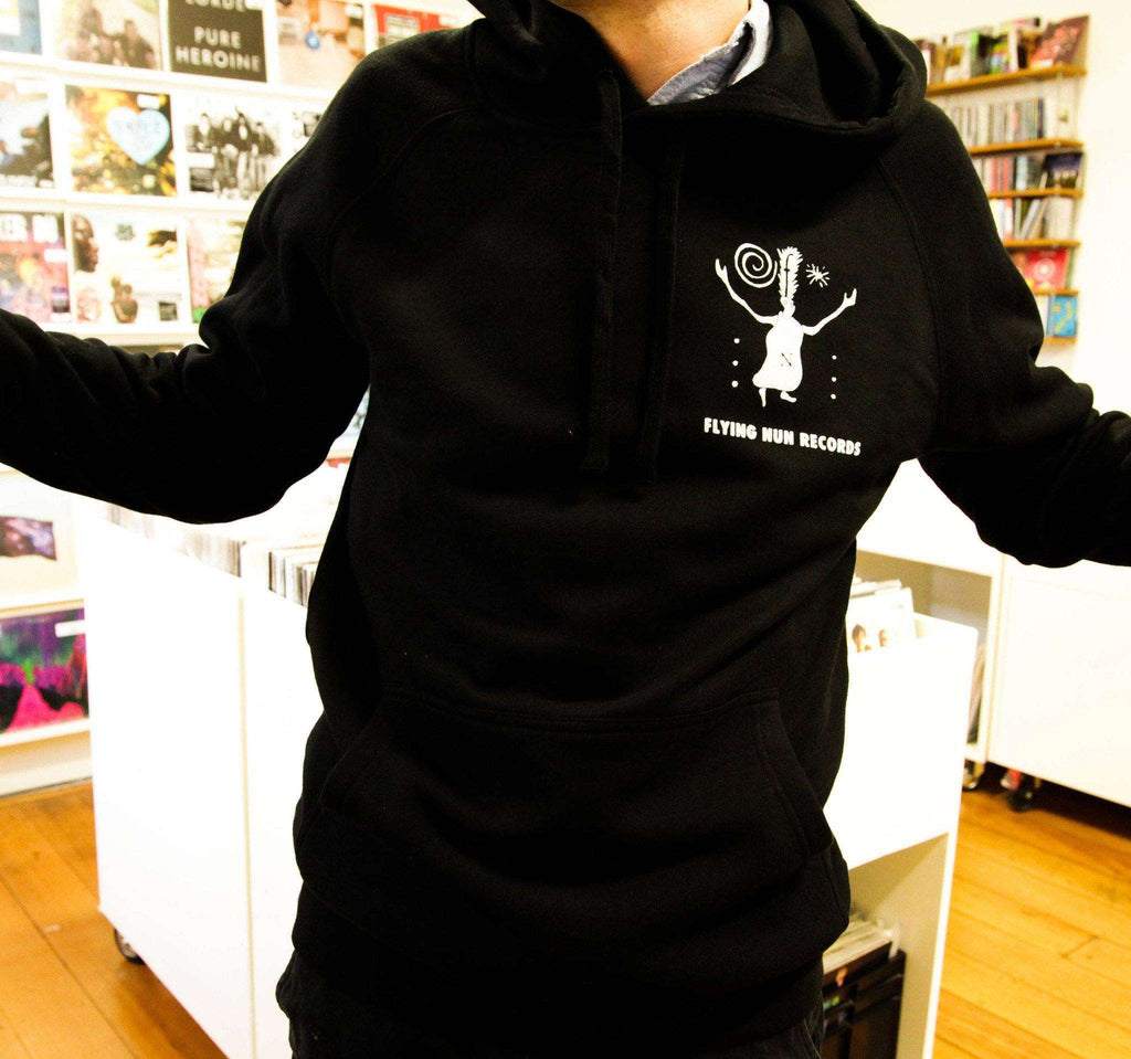 Fuzzy Hoodie (Black) - Flying Out - 1
