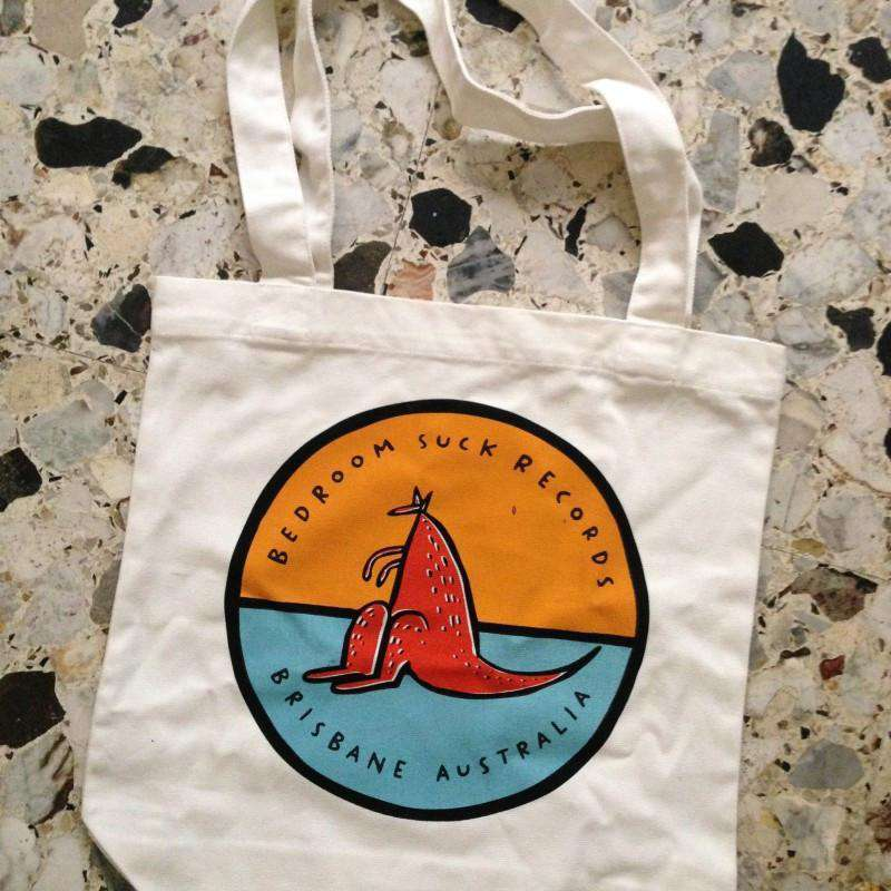 Bedroom Suck Records Tote Bag - Flying Out