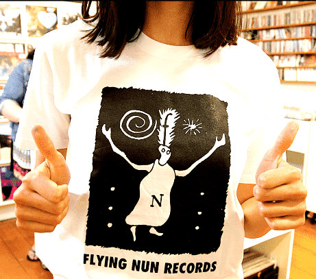 Fuzzy' T-Shirt (White) - Flying Out - 1