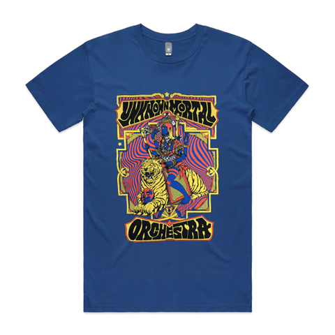 Unknown Mortal Orchestra T-shirt (Blue)