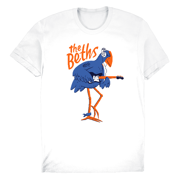 The Beths: Pukeko Tee