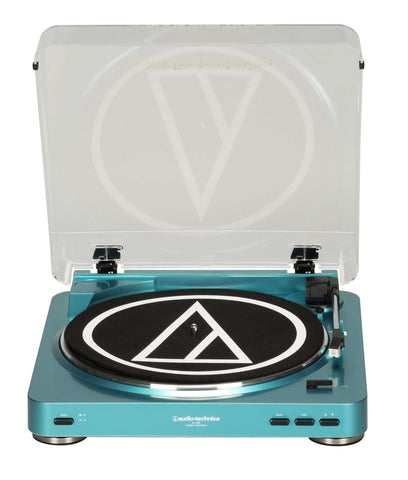 ATLP60 BELT DRIVE TURNTABLE (BLUE / RED) - Flying Out - 1