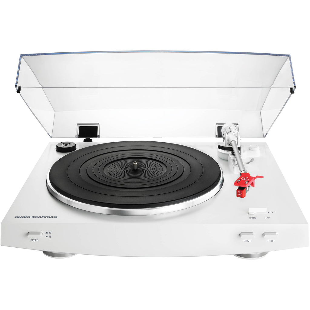 Audio Technica AT-LP3 Turntable (White)