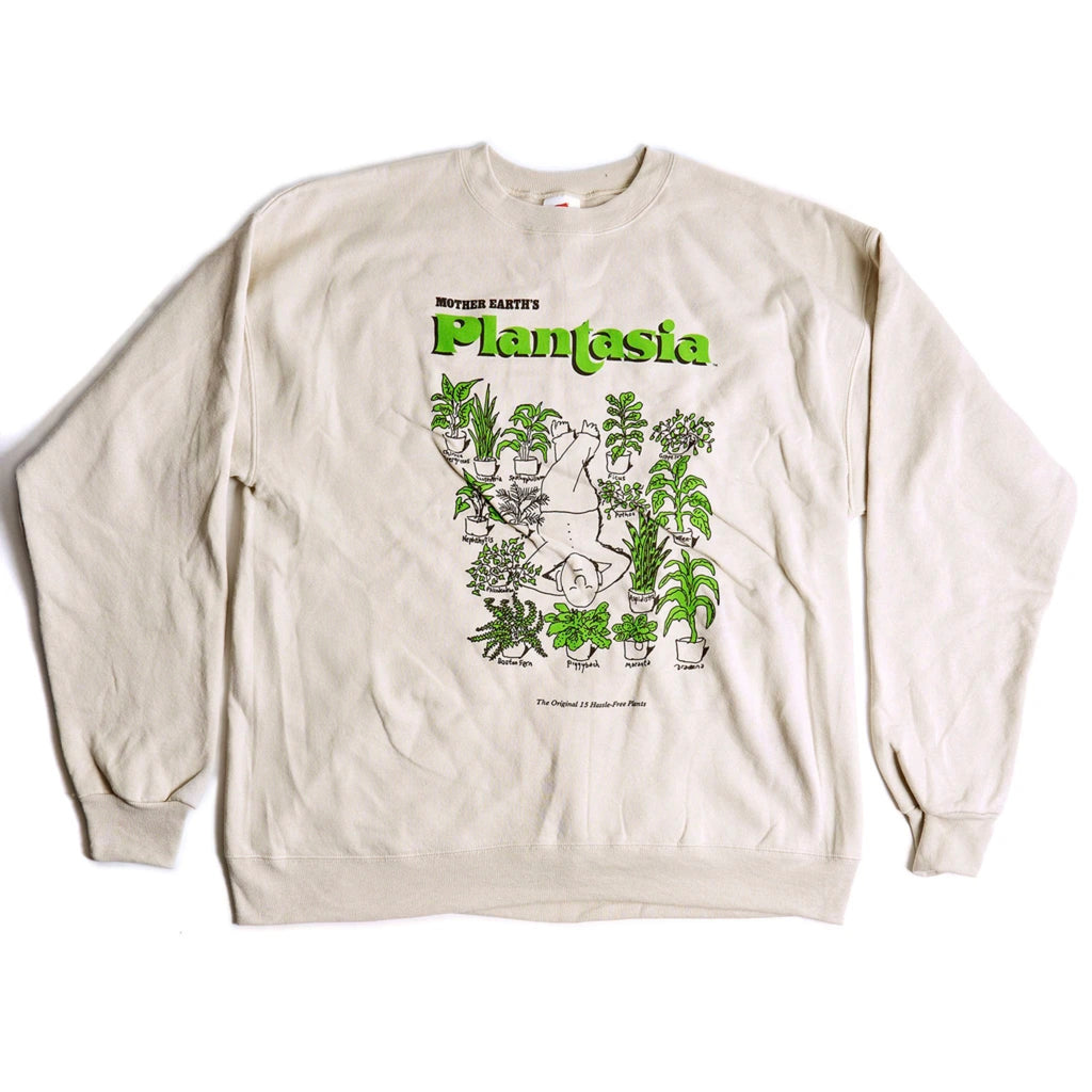 "Plantasia ""Man With His Plants"" Crewneck"