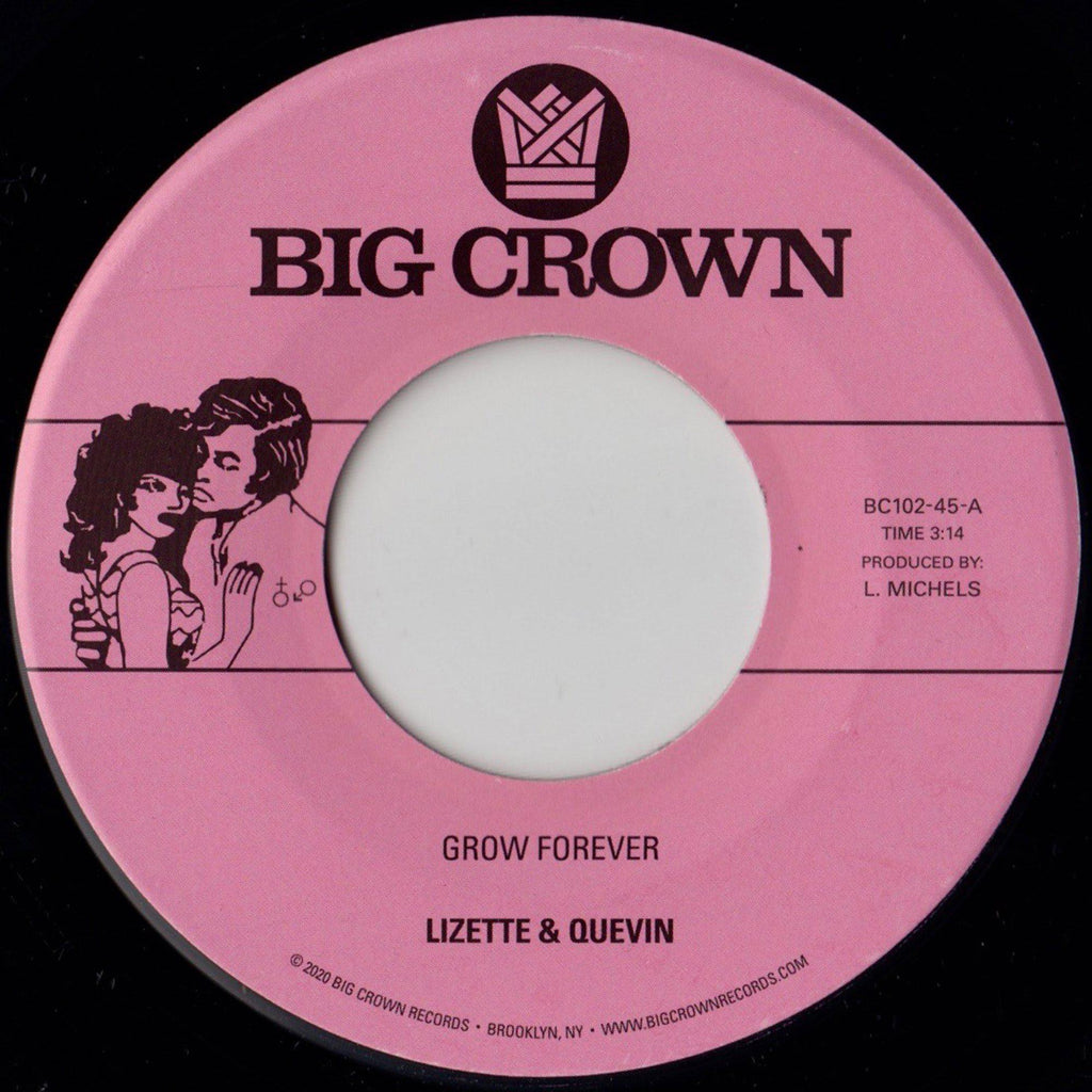 Grow Forever B/W Now It's Your Turn To Sing