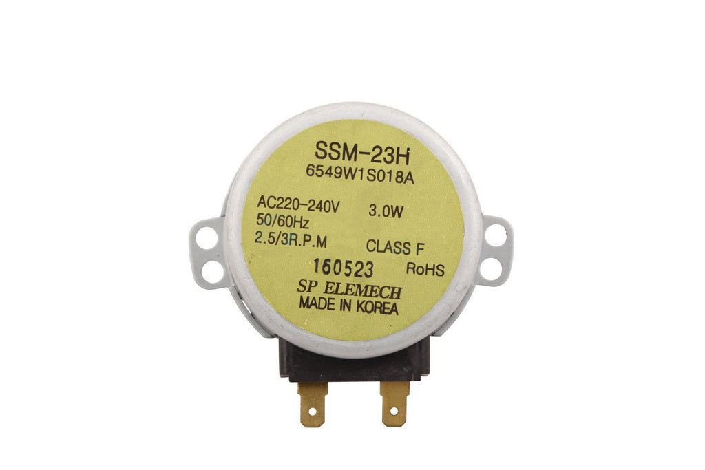 6549W1S018A LG MICROWAVE TURNTABLE MOTOR SSM-23H