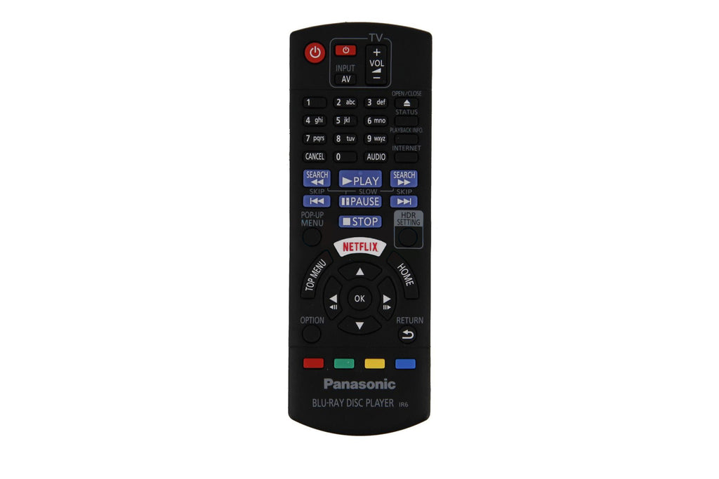 N2QAYB001185 PANASONIC BLU-RAY REMOTE