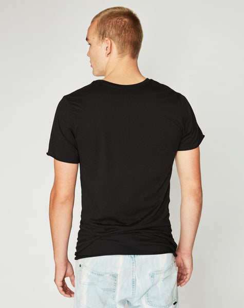 SURROUNDED BY GHOSTS - ONYX TSHIRT - BLACK