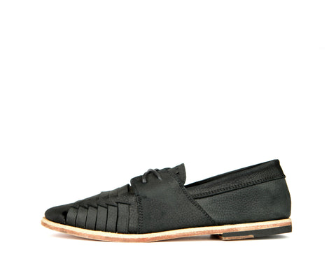 Copper - Black Denim Leather - Cupsole
