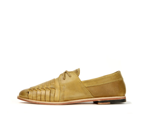 Womens Bluto - Wheat Weave - Leather sole