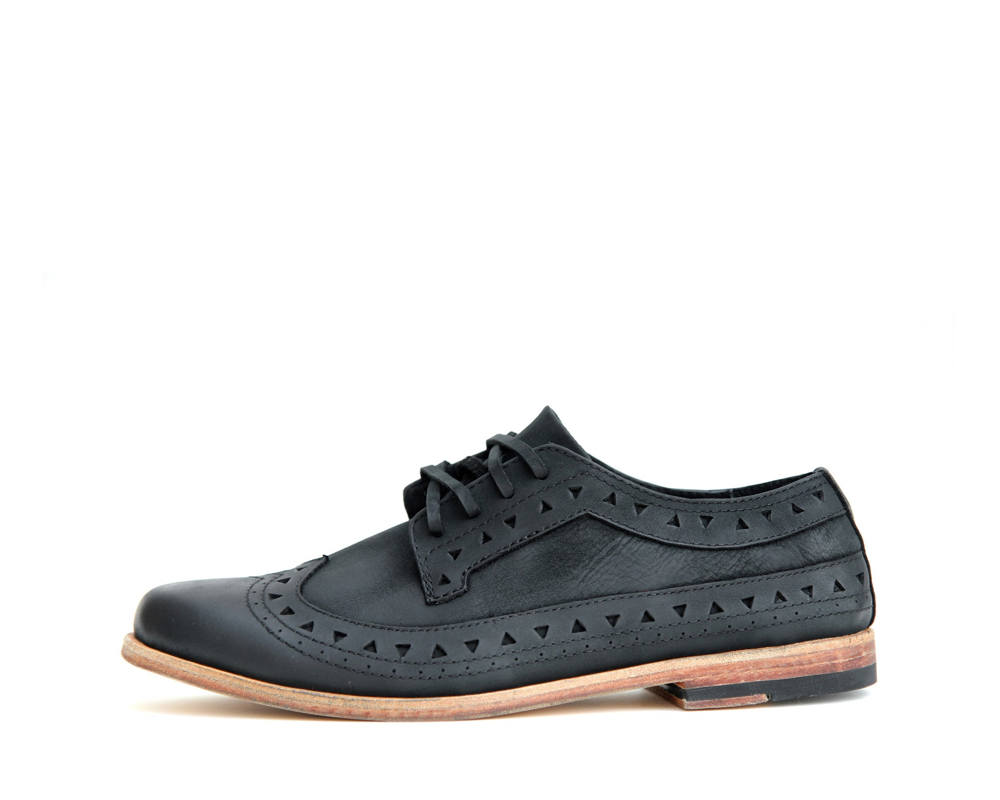 Men's Footwear: Bobby - Black - Leather sole | Mere