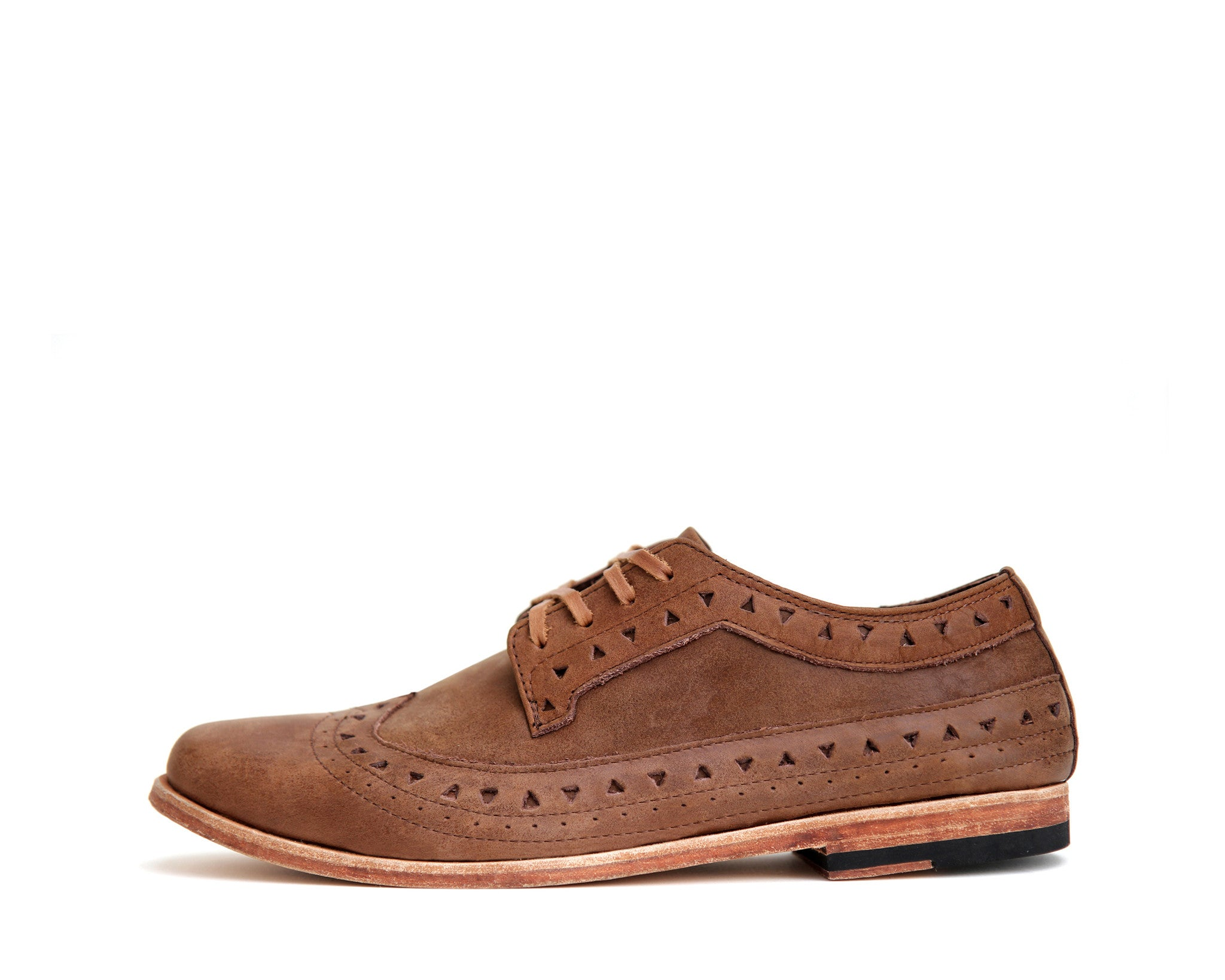 Men's Footwear: Bobby - Oak - Leather sole | Mere