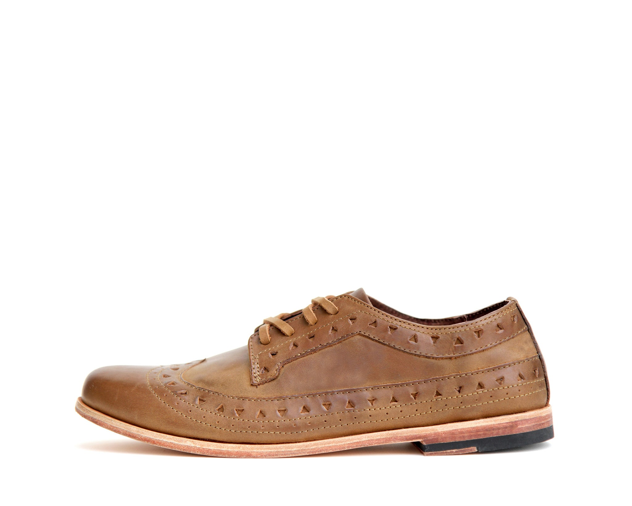 Men's Footwear: Bobby - Wheat - Leather sole | Mere
