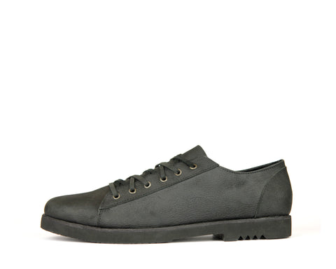 Flint - Black - Rubber Heel