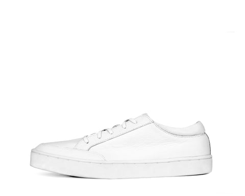 Men's Footwear: Haunt - White - Sneaker sole | Mere