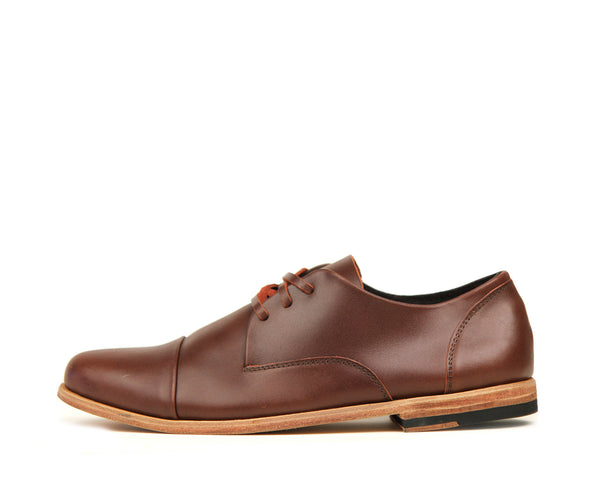 Men's Footwear: Heathen - Hazelnut - Leather Sole | Mere