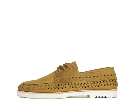Womens Mrs C - Sand - Rubber Sole
