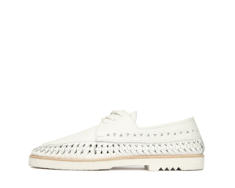 Womens Mrs C - White - Rubber Sole