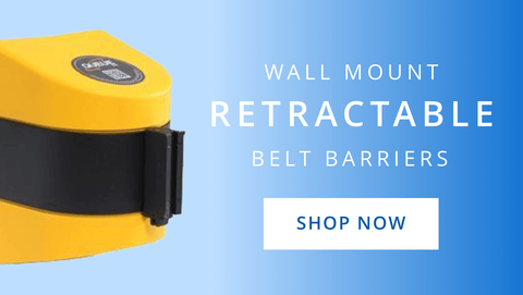 Wall Mount Retractable Belt