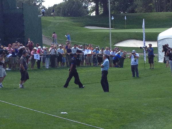 Tiger Wood at 95th PGA Championship Oak Hill