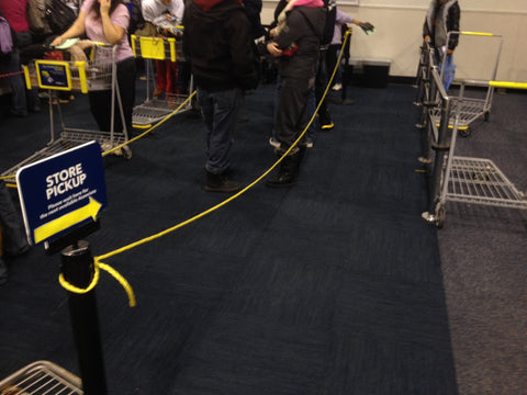 Best Buy Nylon Rope Stanchion Queue