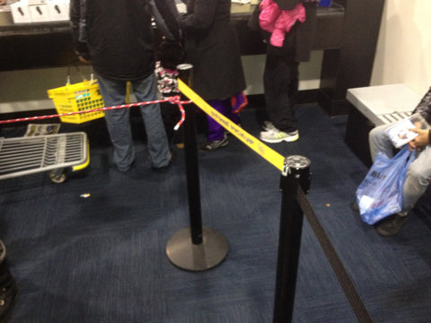 Best Buy Custom Print Retractable Belt Stanchion