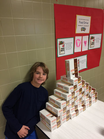 2017 Pro Stanchions Annual Grand Island Neighbors Foundation Holiday Food Drive Veronica Connor Middle School