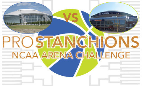 PRO STANCHIONS MARCH MADNESS ARENA BRACKET CHALLENGE