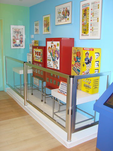 Vintage Candy Machine PEZ Post N Panel Barriers