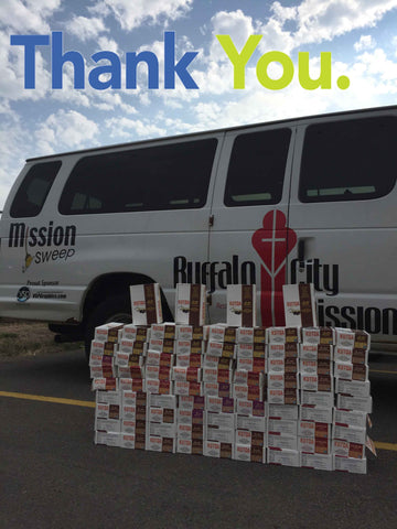 Pro Stanchions Kutoa Buffalo City Mission Back To School Donation 2016