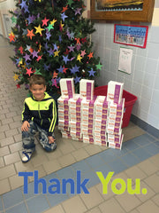 Pro Stanchions Sidway Elementary School Holiday Donation 2016