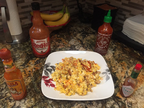 National Hot Sauce Day 2018 Spicy Buffalo Wing Eggs