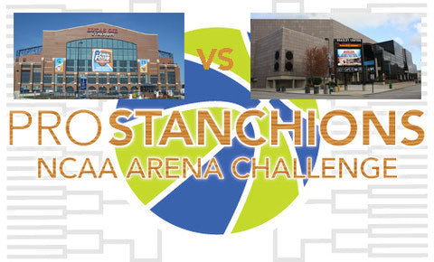 Lucas Oil Stadium vs BMO Harris Bradley Center