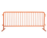 Orange Flat Feet Bike Rack Barricade