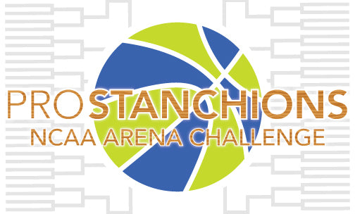 2014 NCAA MEN'S BASKETBALL TOURNAMENT ARENA CHALLENGE - PRO STANCHIONS