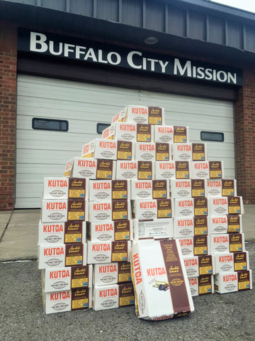 Pro Stanchions Buffalo City Mission Kutoa Donation January 2016