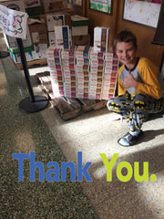 Pro Stanchions Huth Road Elementary School 2016 Holiday Donation