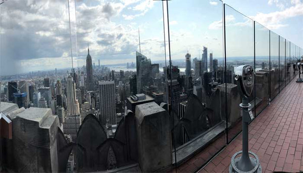 Top of the Rock Viewing Platform New York City