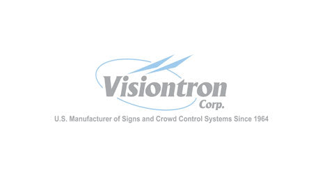 Visiontron Standard Return policy via Pro Stanchions